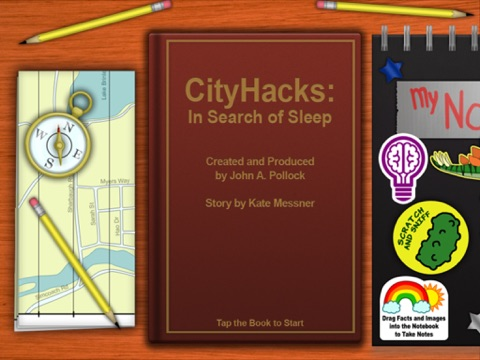 CityHacks: In Search of Sleep (a BiblioTech™ book) screenshot 1