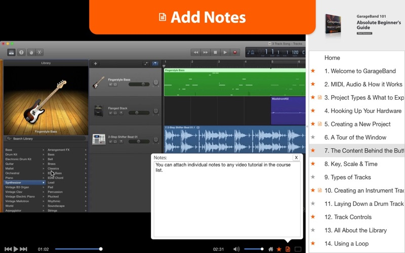 how to use garageband on mac for beginners