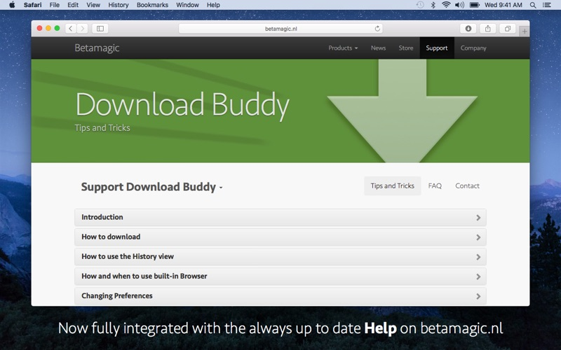 Download Buddy Screenshots