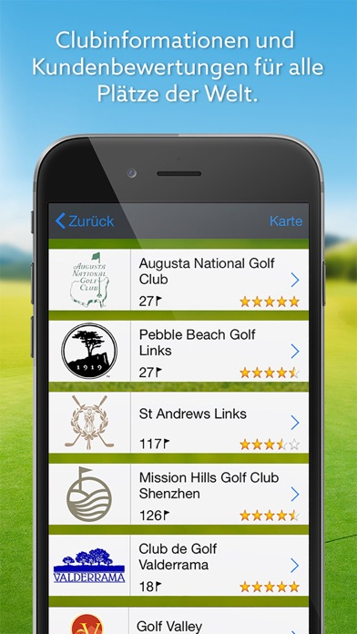 Screenshot von Expert Golf – Golfguide & Logbuch2