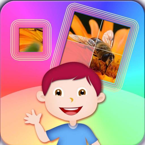 幼儿拼图免费益智游戏大全 - 宝宝 儿童拼昆虫图片