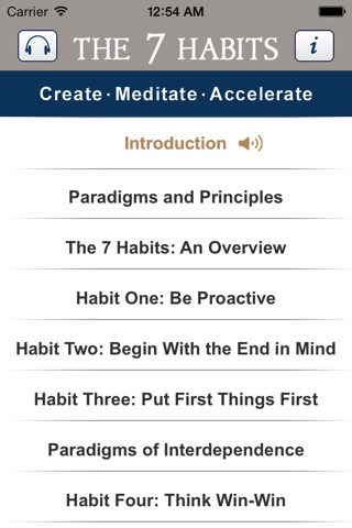 7 Habits of Highly Effective People, by Stephen Covey, Audiobook Meditation and Business Learning Program-Franklin Covey screenshot 3