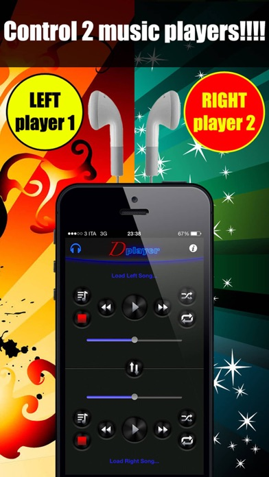 Screenshot #6 for Double Player for Music with Headphones Pro