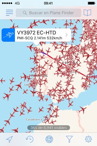 Plane Finder screenshot 2