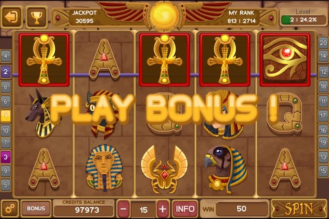 Egyptian Gem Slot screenshot 2