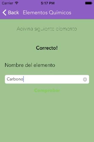 Formulación y Nomenclatura Inorgánica screenshot 3