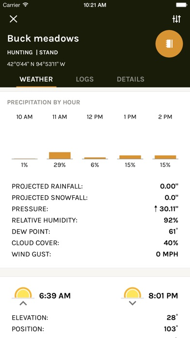 download ScoutLook Hunting: Weather apps 2