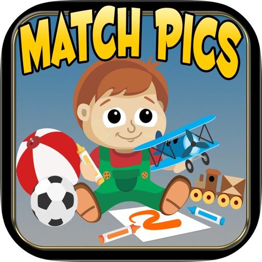 A Aaron Toys Mania Match Pics iOS App