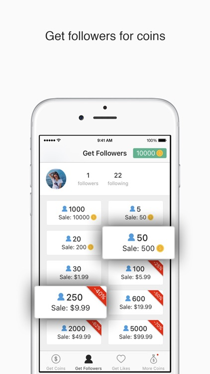 IG Followers - Free followers likes for Instagram by Ming Zhou