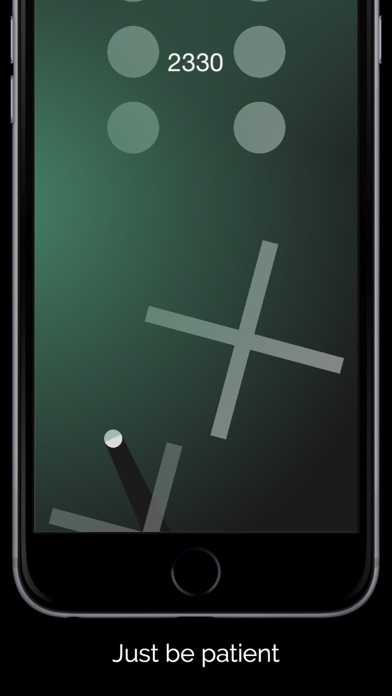 Screenshots of Swype Dot - How Long Can You Last? for iPhone