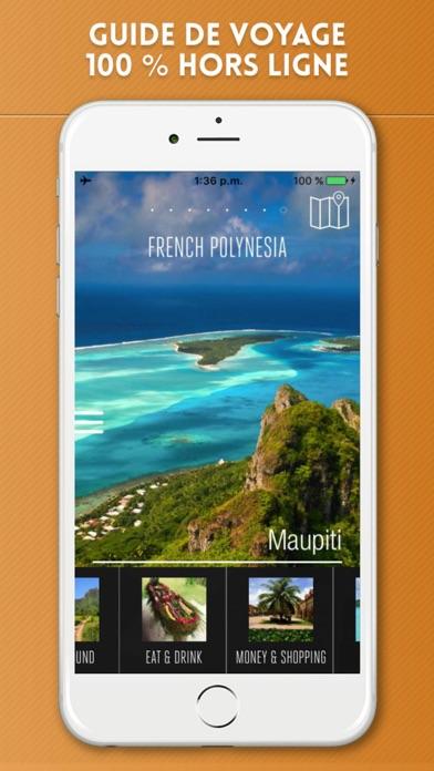 Polynésie Française Guide de VoyageCapture d'écran de 1