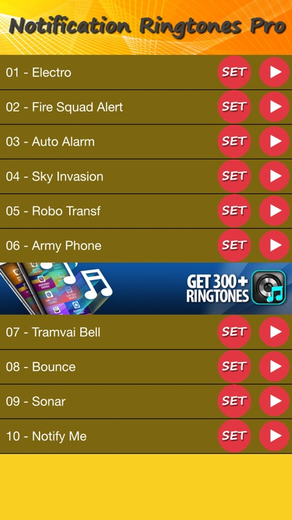 Notification Ringtones Pro – Best Sounds Collection of SMS
