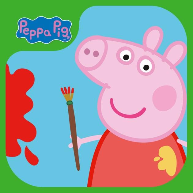 Peppa Pig Paintbox im App Store