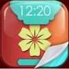 HDの花の壁紙 - おかしなロック画面の背景 そして花のテーマを開花 iPhoneのための