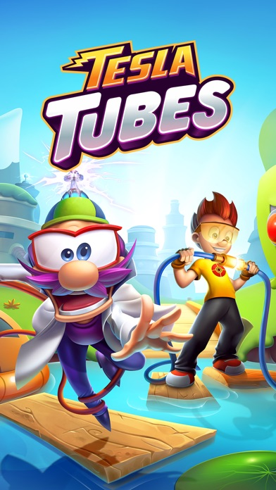 Tesla Tubes: Реши логические игры и головоломки Screenshot