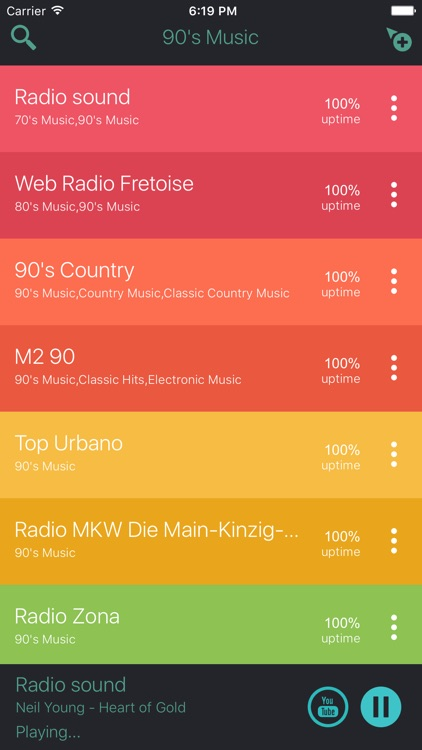 90s Music FM Radio Stations