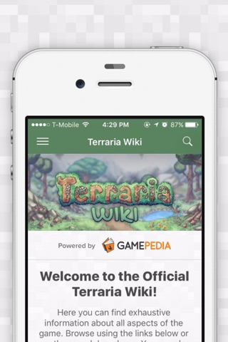 Official Wiki for Terraria screenshot 1