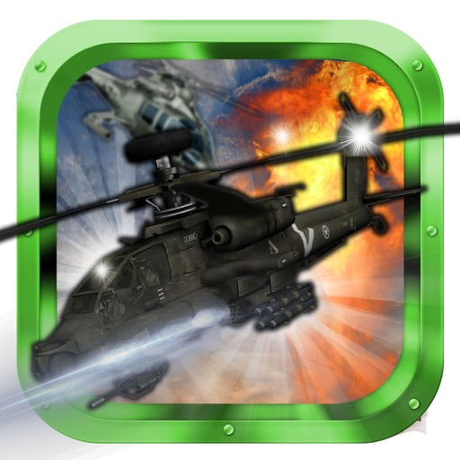 Copters Of Fighters - Iron Air Force Attack iOS App
