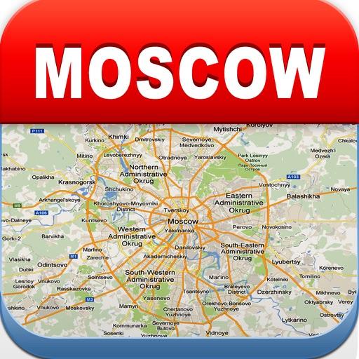 莫斯科离线地图 – 城市 地铁 机场