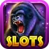 Слоты Gorilla King : Джекпот Дом Kong — Fun 777 Лас-Вегас Игровые автоматы
