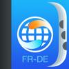 Wörterbuch und Verben Französisch-Deutsch