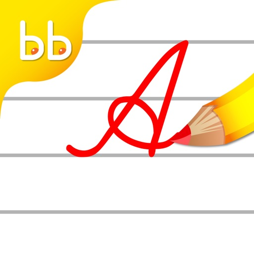 Cursive Writing Capital letters : Kids learn to write uppercase alphabets and shapes iOS App