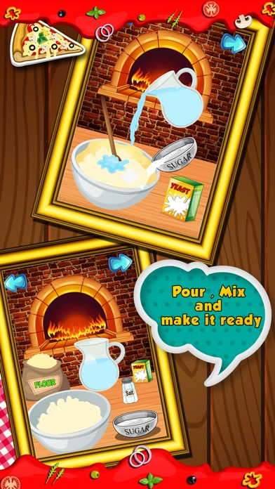 Pizza fever - Cooking games Screenshot