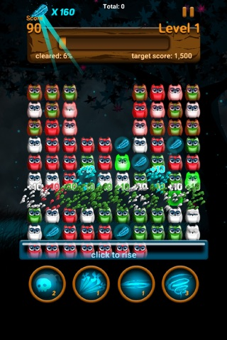 Owl night - Crush game screenshot 3