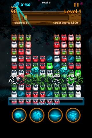 Owl night - Crush game screenshot 3