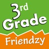 3rd Grade Friendzy - Reading, Math, Science, Geography, Language Arts & Social Studies Learning Games