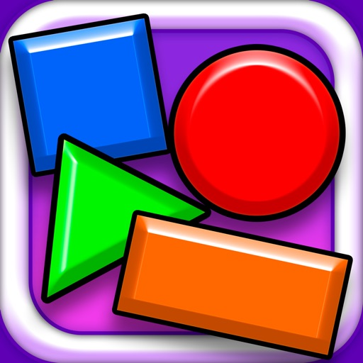 Learning Basics of Shapes and Primary Colors for Growing Kids iOS App
