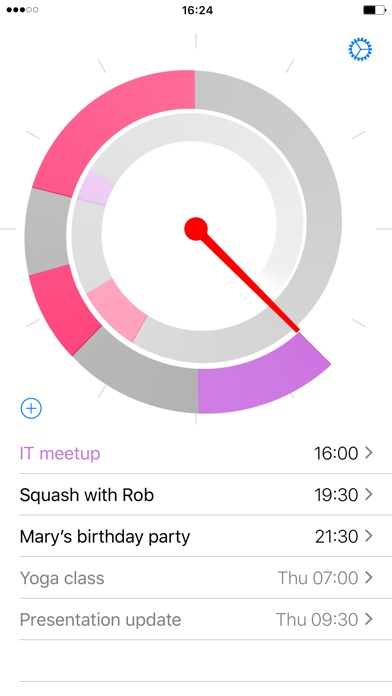 Future – Calendar events around the clock Screenshot