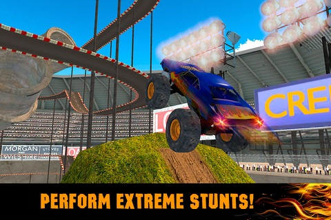 Extreme Monster Truck Stunt Racing 3D Full screenshot 3