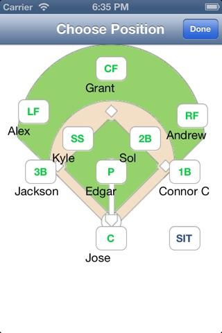 Baseball Softball Pocket Coach screenshot 2