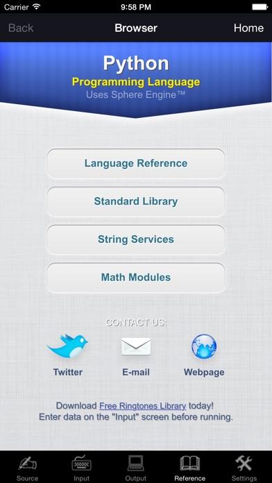 Python Programming Language Screenshots