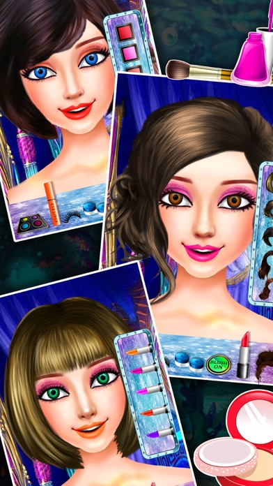 download Ice Princess Mermaid Beauty Salon – Fun dress up and make up game for little stylist appstore review