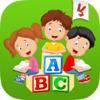 Aprender el alfabeto y letra - Juego de aprendizaje ABC para bebés y niños de jardín de infantes