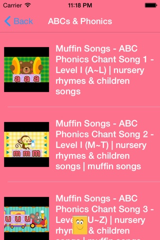 Kids Songs and Rhymes - English Preschool Series screenshot 4