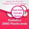 Statistics 2000 Flashcards
