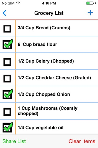 My Recipe Book - Your recipes, finally organized. screenshot 4