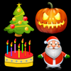 Dating DNA, Inc. - Holiday Greetings - 3D Animations, Emoji, Emoticons, Sounds & Videos for Special Occasions  artwork