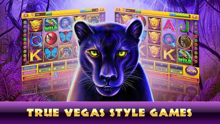 Slots Jackpot Panthers House: Fun Slot Machine Games From The Heart Of Las  Vegas