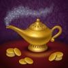 Aladin und die Wunderlampe. Malbuch für Kinder