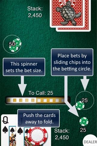Heads Up: Hold'em  (1-on-1 Poker) screenshot 2