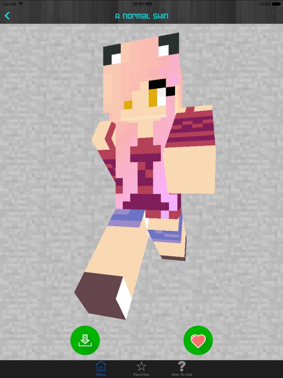 Girl Skins for Minecraft PE (Pocket Edition) - Best Free