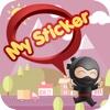 My Sticker messenger sticker translator