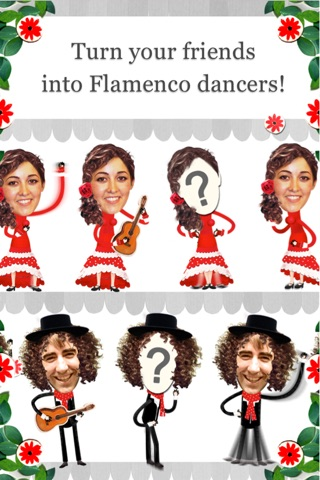 Crazy Flamenco Rumba Dance – Enjoy dancing Spanish music with this funny Face Photo Booth (perfect for guitar lovers) screenshot 1