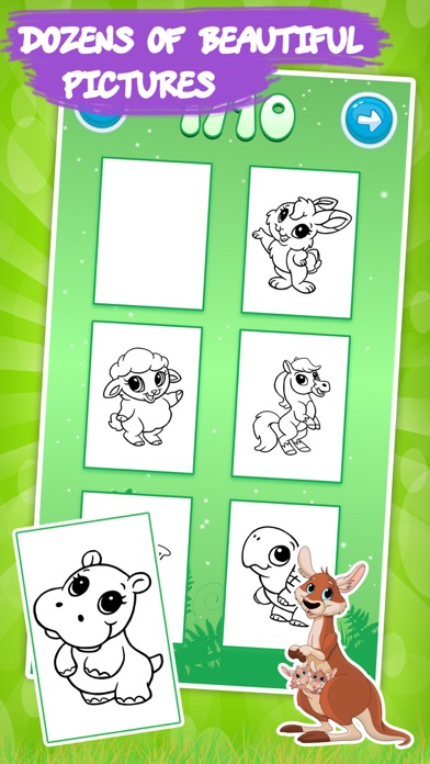 Best coloring book Animals on the App Store