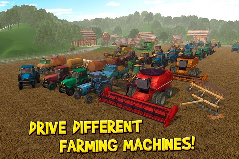 USA Country Farm Simulator 3D screenshot 3