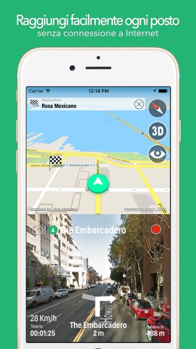 Screenshot of BigGuide Gambia Mappa + Guida Turistica Completa e Navigatore Vocale Offline1